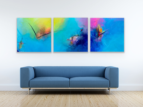 The Migration - Josh Sim Original Triptych