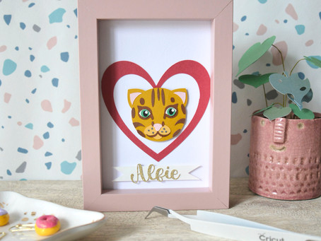 How to create your cat using free shapes in Cricut Design Space