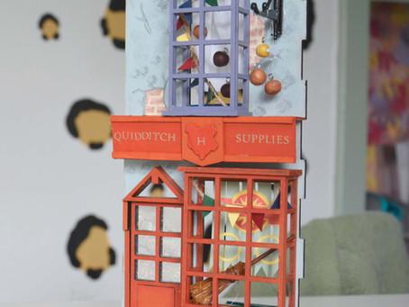 Harry Potter Book Nook Crafts Part 2: Quidditch Supplies