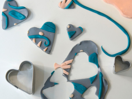 Easy polymer clay ideas: how to make 2 projects
