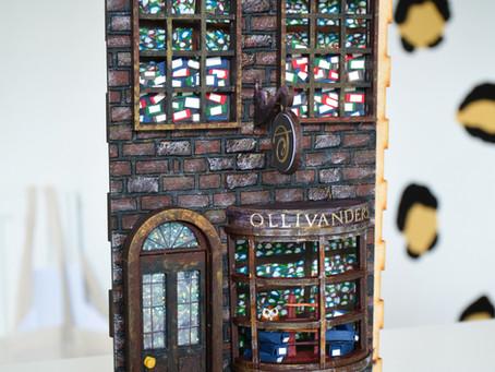 Harry Potter Book Nook Part 1: Ollivanders Wand Shop