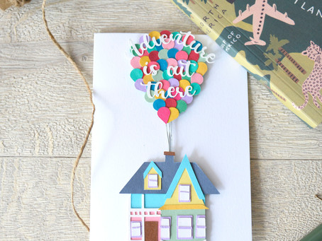 How to make the Disney Up house with free shapes in Cricut Design Space