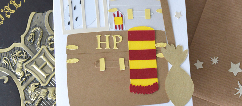 Wizard luggage: Magical Cricut Tutorial using Free Shapes in Cricut Design Space