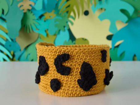 FREE Crochet Basket Pattern!