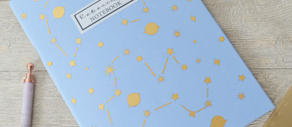 Personalise a notebook with free shapes in Cricut Design Space