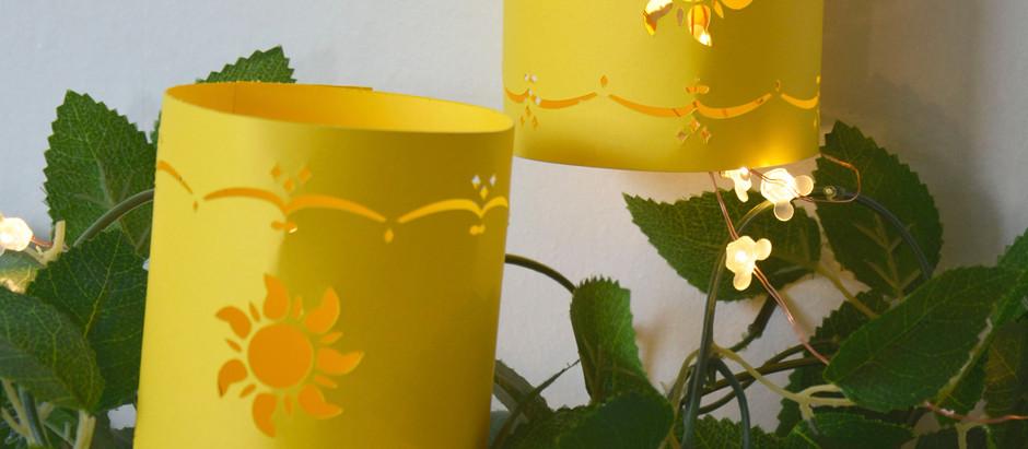 Make your own Rapunzel Lanterns with Cricut