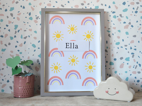 How to create a sun and rainbow using free shapes in Cricut Design Space!