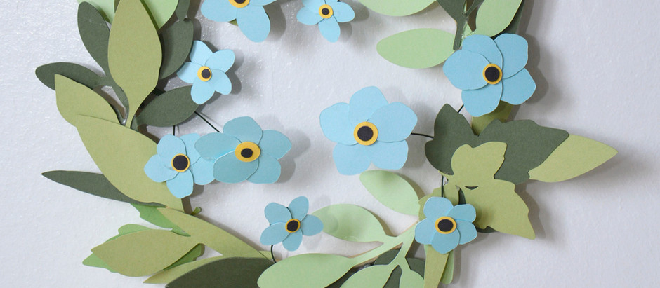 How To Make Forget Me Not Flowers using Free Shapes in Cricut Design Space