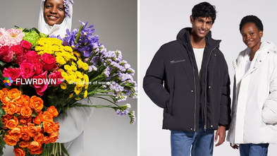 European Fashion Brand Releases Vegan Down Jacket Made From Flowers And Recycled Plastic(TotallyVega
