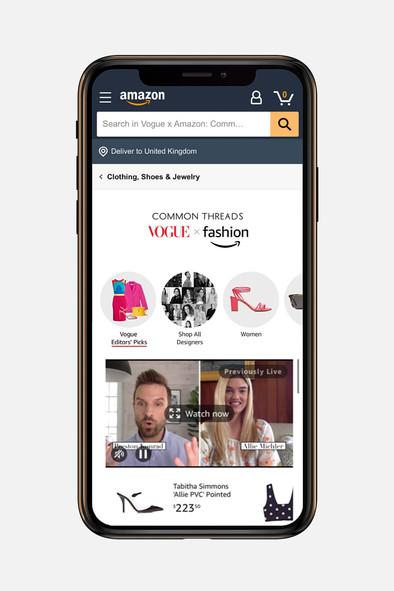 Amazon's Big Breakthrough Into Designer Fashion(Vogue Business)