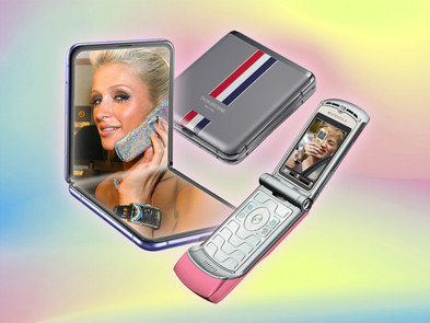 Hello Moto: The Return Of The Fashion Flip Phone (Ssense)