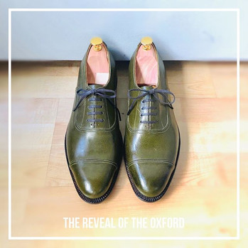 So then, these Oxford shoes (made a coup