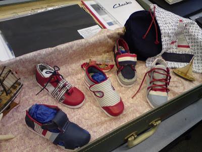 A range of children's shoes 'Nautical Charm'