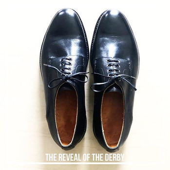 So then, these Derby shoes (made a coupl