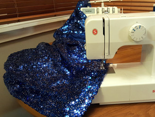 Nothing says ABBA more than blue sequins!