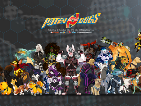AKG Games partners RetroBot to distribute top-rated Intellectual Property 'PotenDogs'.