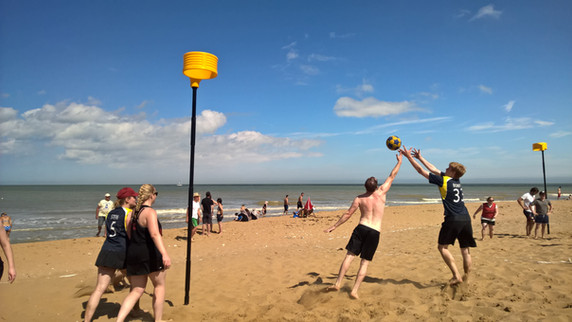 Beach Tournament Success
