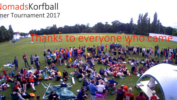 Thank you to all our volunteers! The Nomads summer tournament wouldn't be the same without you.