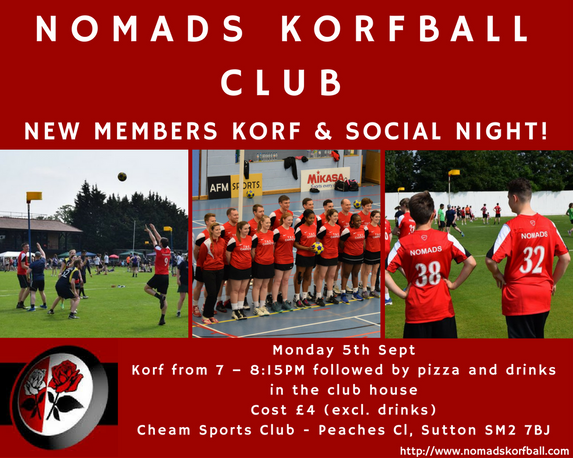 New Members and Korf Social Night!