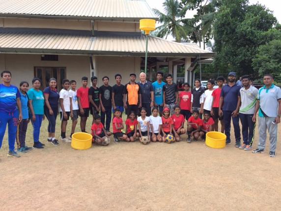 Helping our Sri Lankan Korfball Friends