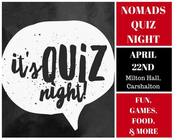 Nomads Quiz Night