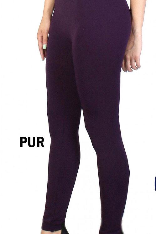 Purple Cozy  One Size Jeggings