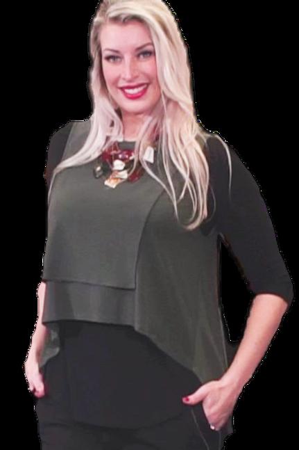 Olive Green Jersey Vest