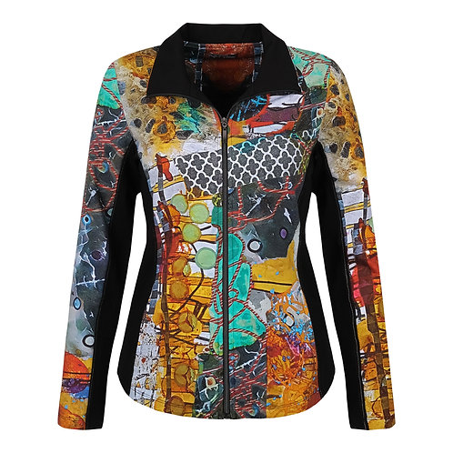 """Aviary"" Yoga Jacket"