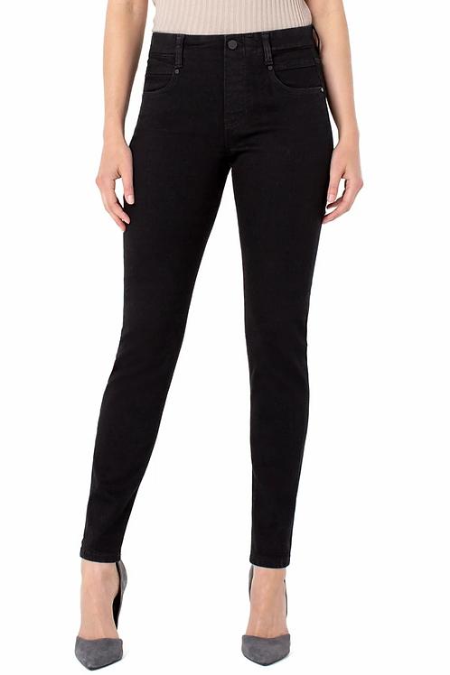"""""""Gia Glider"""" Skinny Black Jeans"""