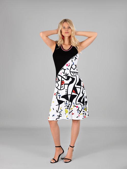 "Dolcezza ""Naissance de l'Origine"" Sleeveless A-Line Dress"