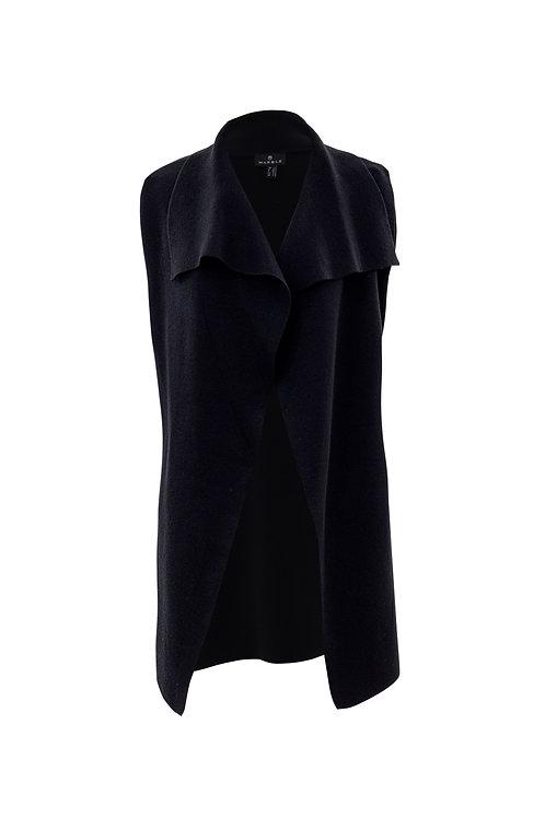 Black 3/4 Length Sweater Vest