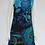 Thumbnail: Turquoise Bold Flower Sleeveless Dress