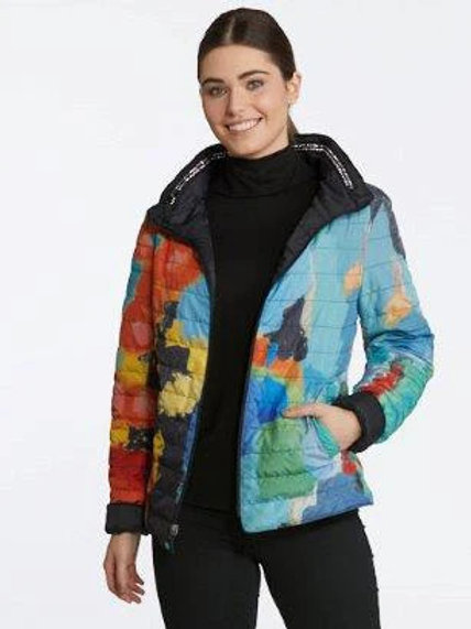 """""""In the City"""" Reversible Puffer Jacket Item # 90238"""