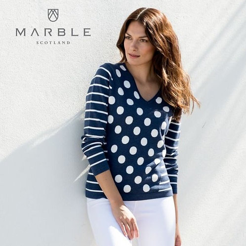 Dots and Stripes Sweater