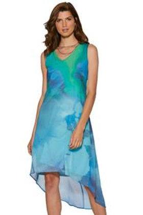 """My Name is Velvet"", Layered Chiffon Dress"