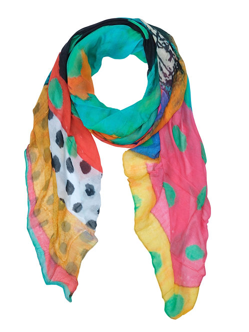 "Dolcezza ""Stowe in October"" Scarf"