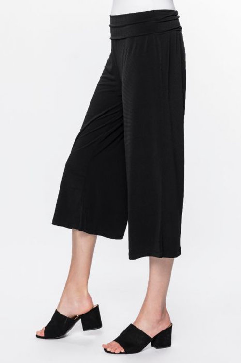 Black Jersey Culotte