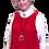 Thumbnail: Cranberry Red Jersey Vest