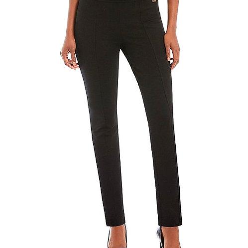 Black Ponte Slim Pant