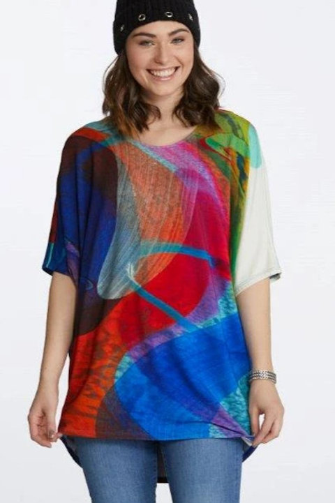"""Dancing in the Kitchen"" Dolman Sleeve Tunic Item #90247"