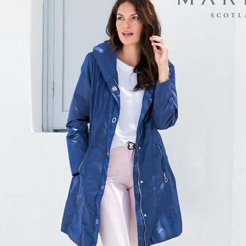 Denim Blue Rain Coat