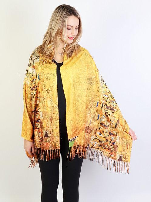 """Gustav Klimt """"Lady in Gold"""" Scarf"""