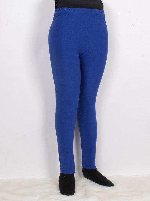Royal Blue Silky Leggings