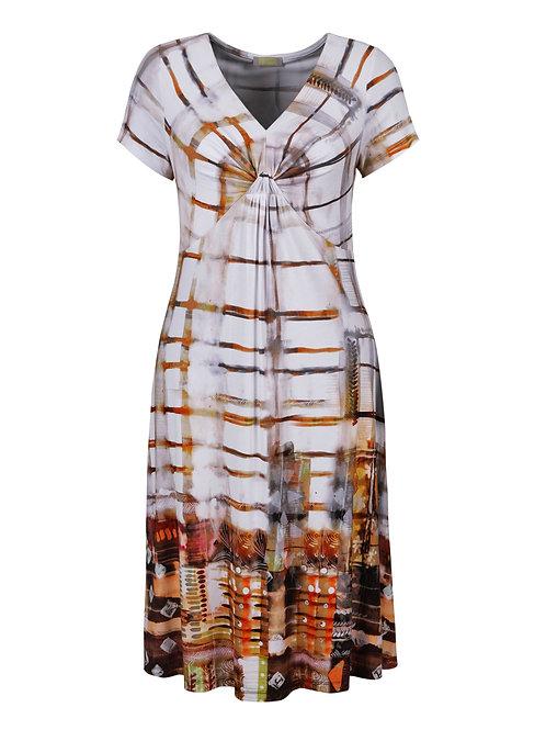 Sedona V-Neck Short Sleeve Dress