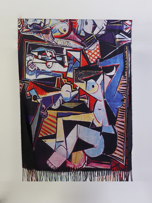 "Picasso ""Women of Algiers"" Scarf"