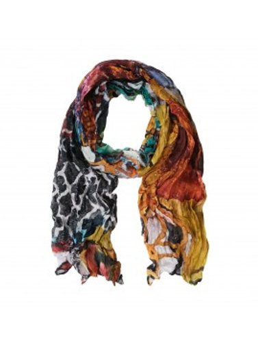 """Aviary"" Art Scarf by Dolcezza"