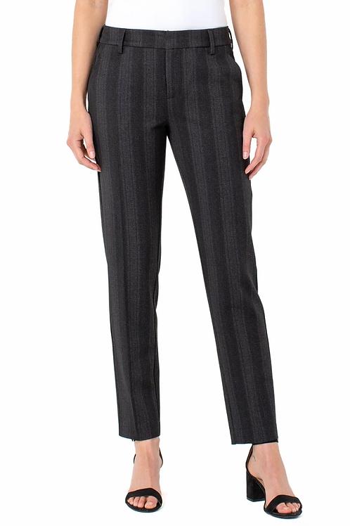 Grey black Multi Stripe Kelsey Knit Trouser