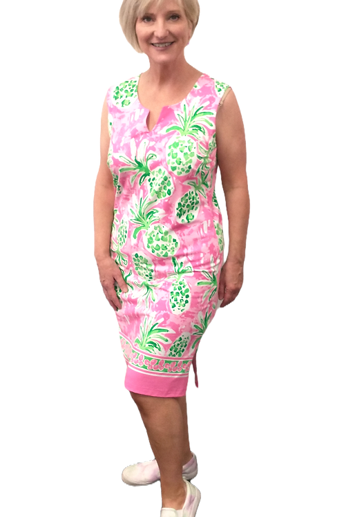 Carre Noir Preppy Pineapple Dress