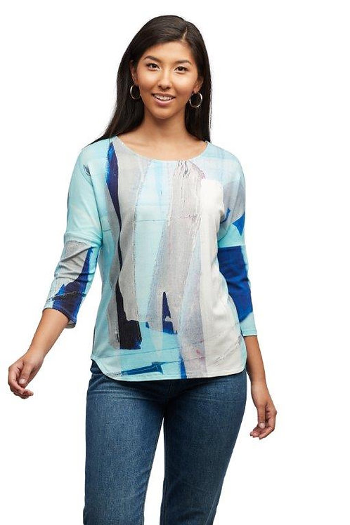 """Claire Desjardins """"Clear as Day"""" 3/4 Dolman Sleeve Top"""