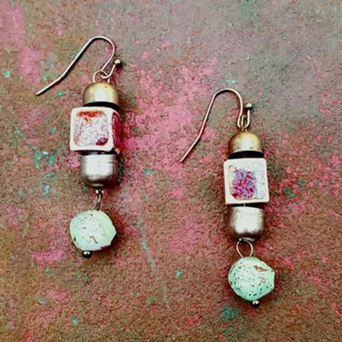 Rare Earth Drop Earrings